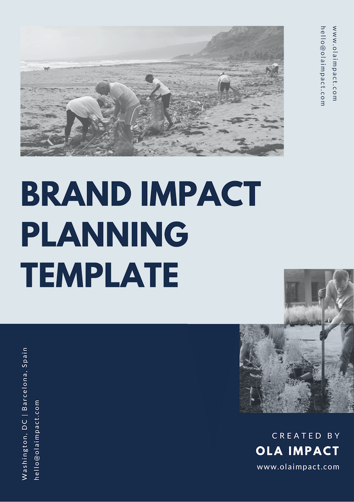Impact Planning Template